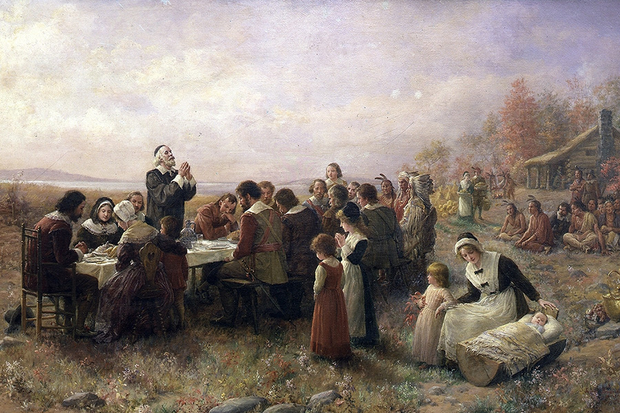 The-First-Thanksgiving-at-Plymouth-Jennie-A.-Brownscombe-1914.jpg