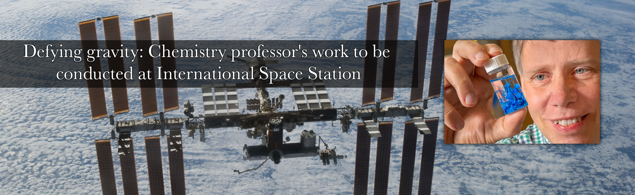 Defying Gravity: FSU Professor's work to be conducted at International Space Station